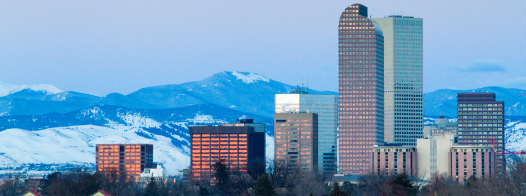 City Of Denver and Mountains